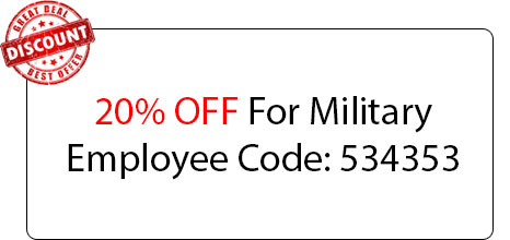 Military Employee 20% OFF - Locksmith at Plainview, NY - Plainview NYC Locksmith